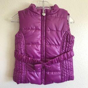 Baby winter puffer vest ❄️💜
